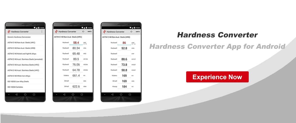 Hardness Converter APP