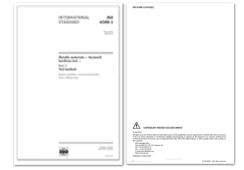 International Standards of PHR-100 Magnetic Rockwell Hardness Tester