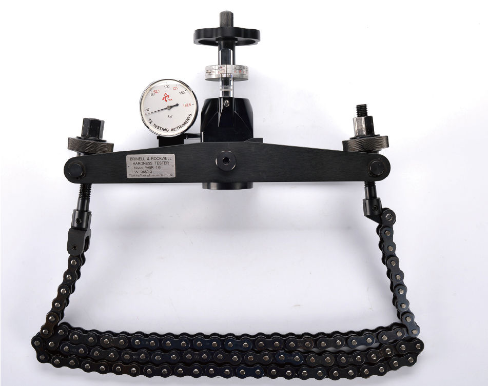 Solution of Chain Hardness Tester